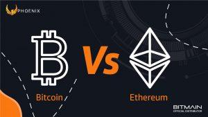 Bitcoin VS Ethereum Mining